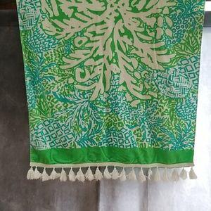 Lilly Pulitzer fringe towel